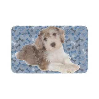 "Schnoodle Dog Dog Beds 48""x30"" - TeeAmazing"