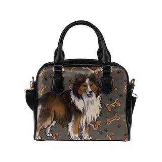 Shetland Sheepdog Dog Shoulder Handbag (Model 1634) - TeeAmazing