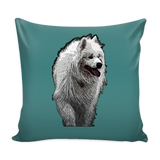 Samoyed Dog Pillow Cover - Samoyed Accessories - TeeAmazing - 3