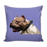 Pitbull Dog Pillow Cover - Pitbull Accessories - TeeAmazing - 4