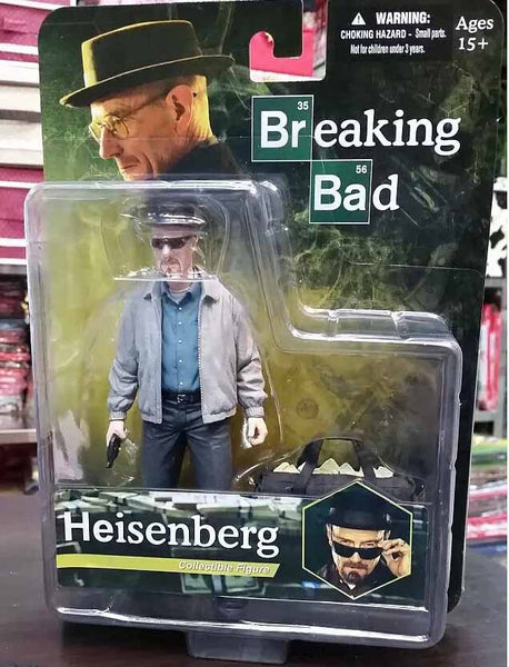 Breaking Bad Heisenberg Walter White Action Figures PVC brinquedos Collection Figures toys with Retail box - TeeAmazing - 7
