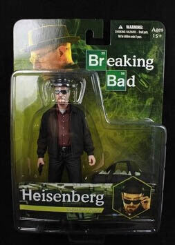 Breaking Bad Heisenberg Walter White Action Figures PVC brinquedos Collection Figures toys with Retail box 95681-c