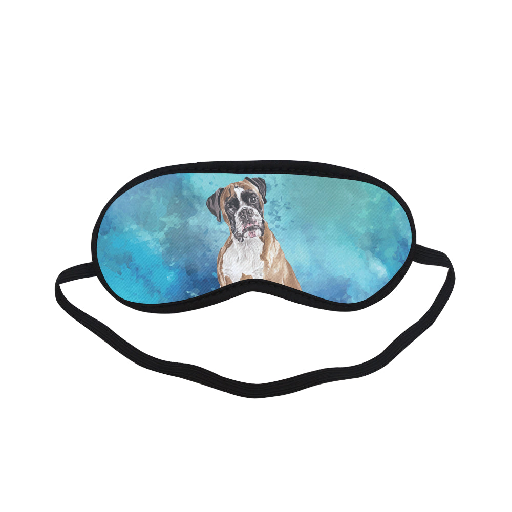 Boxer Water Colour Sleeping Mask - TeeAmazing