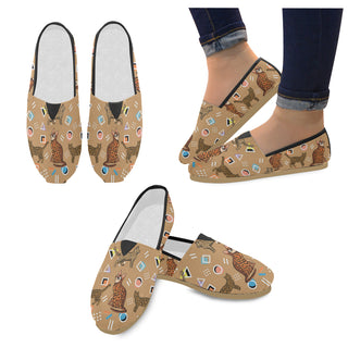 Bengal Cat Women's Casual Shoes - TeeAmazing