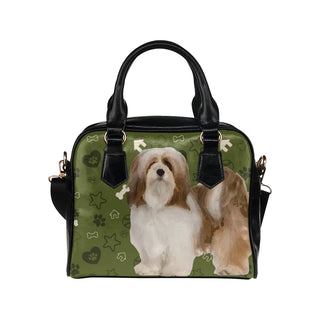 Lhasa Apso Dog Shoulder Handbag - TeeAmazing
