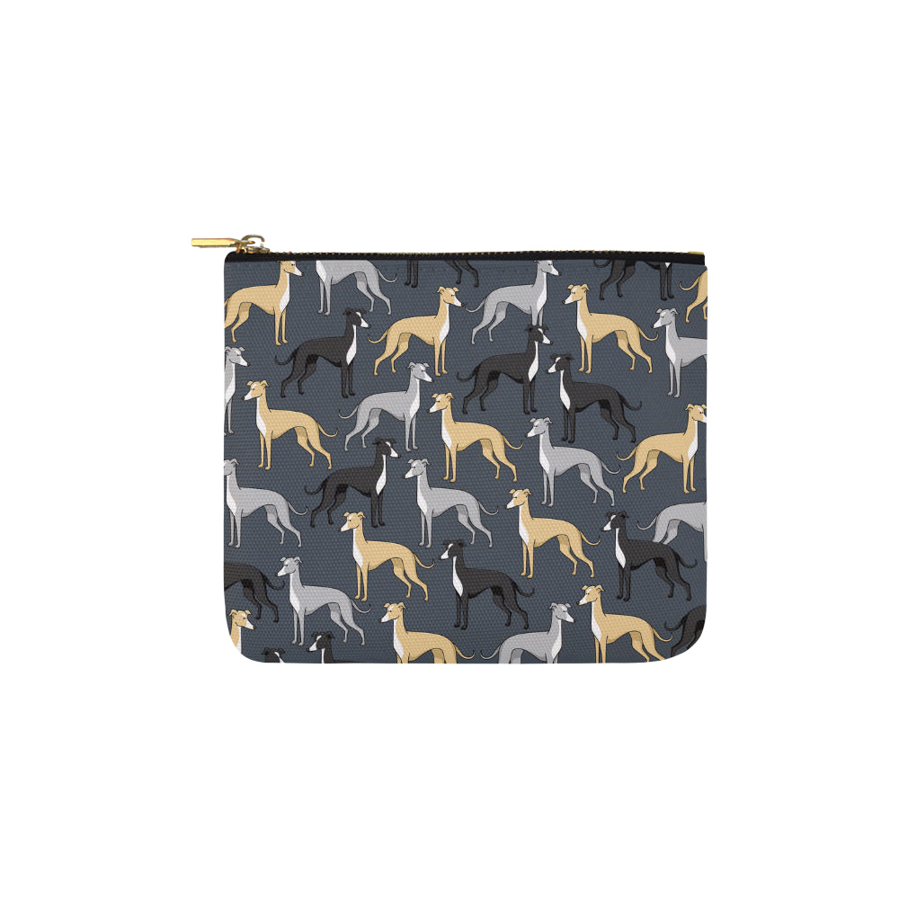 Greyhound Carry-All Pouch 6x5 - TeeAmazing