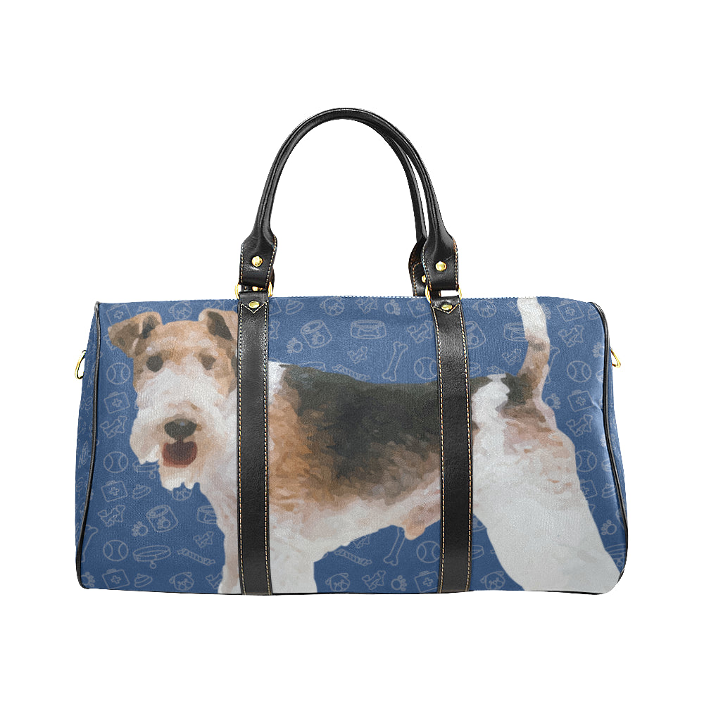 Wire Hair Fox Terrier Dog New Waterproof Travel Bag/Small