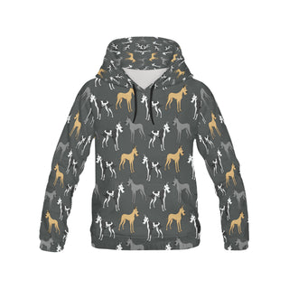 Great Dane All Over Print Hoodie for Women (USA Size) (Model H13) - TeeAmazing