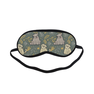 Briard Flower Sleeping Mask - TeeAmazing