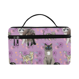 Balinese Cat Cosmetic Bag/Large - TeeAmazing