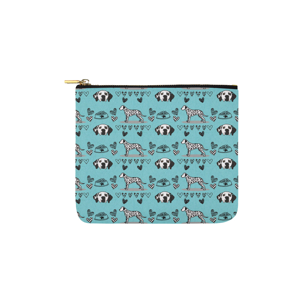 Dalmatian Pattern Carry-All Pouch 6x5 - TeeAmazing