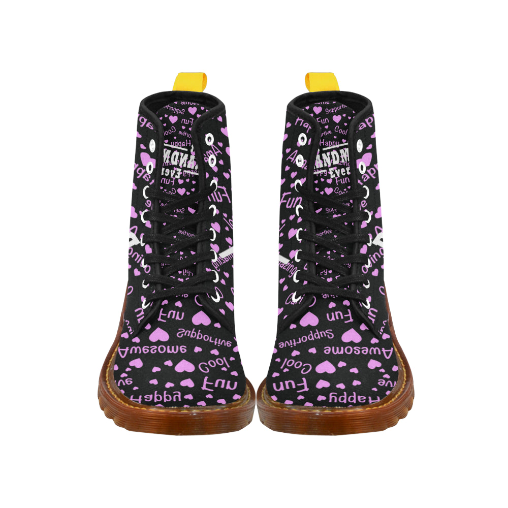 Best Grandma Ever Black Boots For Women - TeeAmazing
