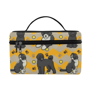 Portuguese water dog Cosmetic Bag/Large - TeeAmazing