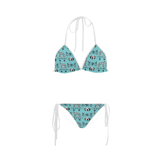 Dalmatian Pattern Custom Bikini Swimsuit - TeeAmazing