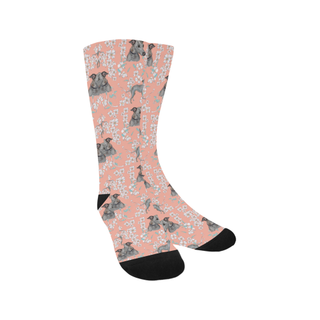 Italian Greyhound Flower Trouser Socks - TeeAmazing