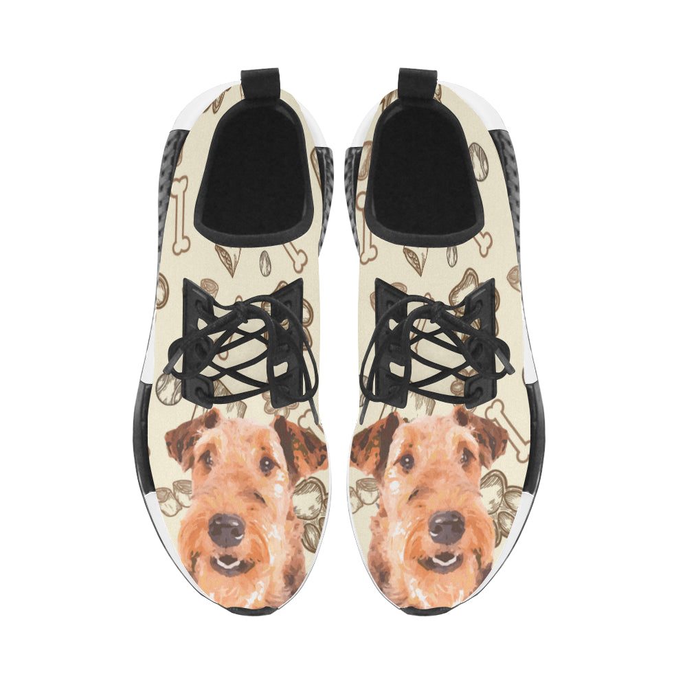 Airedale Terrier Men's Draco Running Shoes - TeeAmazing