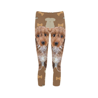 Cockapoo Dog Capri Legging (Model L02) - TeeAmazing
