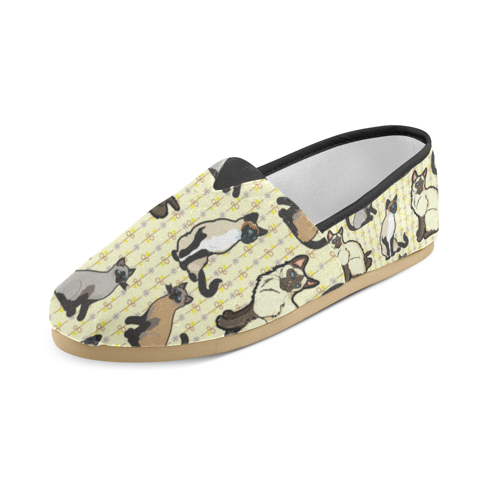 Siamese Women's Casual Shoes - TeeAmazing
