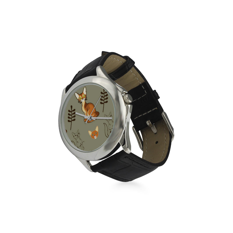 Abyssinian Women's Classic Leather Strap Watch - TeeAmazing