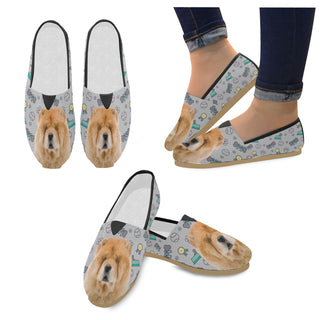 Chow Chow Dog Women's Casual Shoes - TeeAmazing