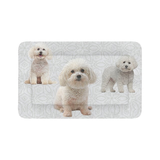 "Bichon Frise Lover Dog Beds 48""x30"" - TeeAmazing"
