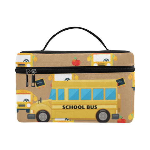 12fadd557a School Bus Leather Tote Bag Small