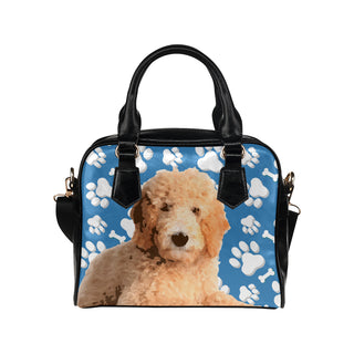 Goldendoodle Shoulder Handbag - TeeAmazing