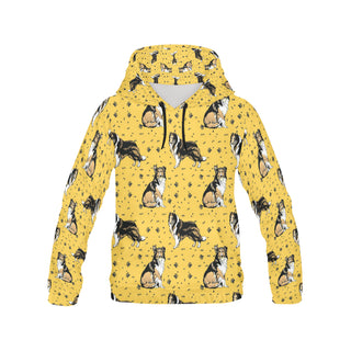 Collie All Over Print Hoodie for Men - TeeAmazing