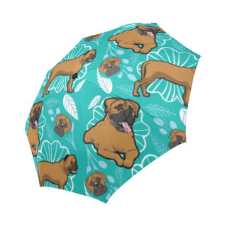 Bullmastiff Flower Auto-Foldable Umbrella - TeeAmazing