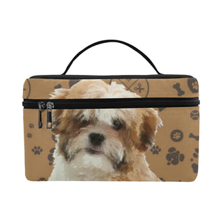 Maltese Shih Tzu Dog Cosmetic Bag/Large - TeeAmazing