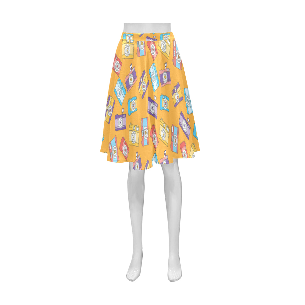 Photography Camera Athena Women's Short Skirt - TeeAmazing