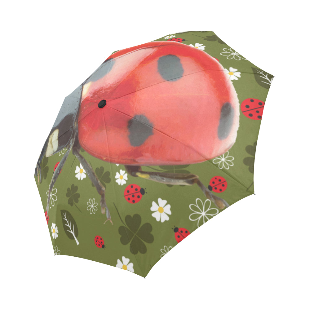 Lady Bug Auto-Foldable Umbrella D2145979