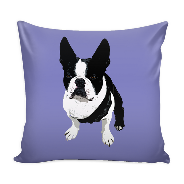 Boston Terrier Dog Pillow Cover - Boston Terrier Accessories - TeeAmazing - 3