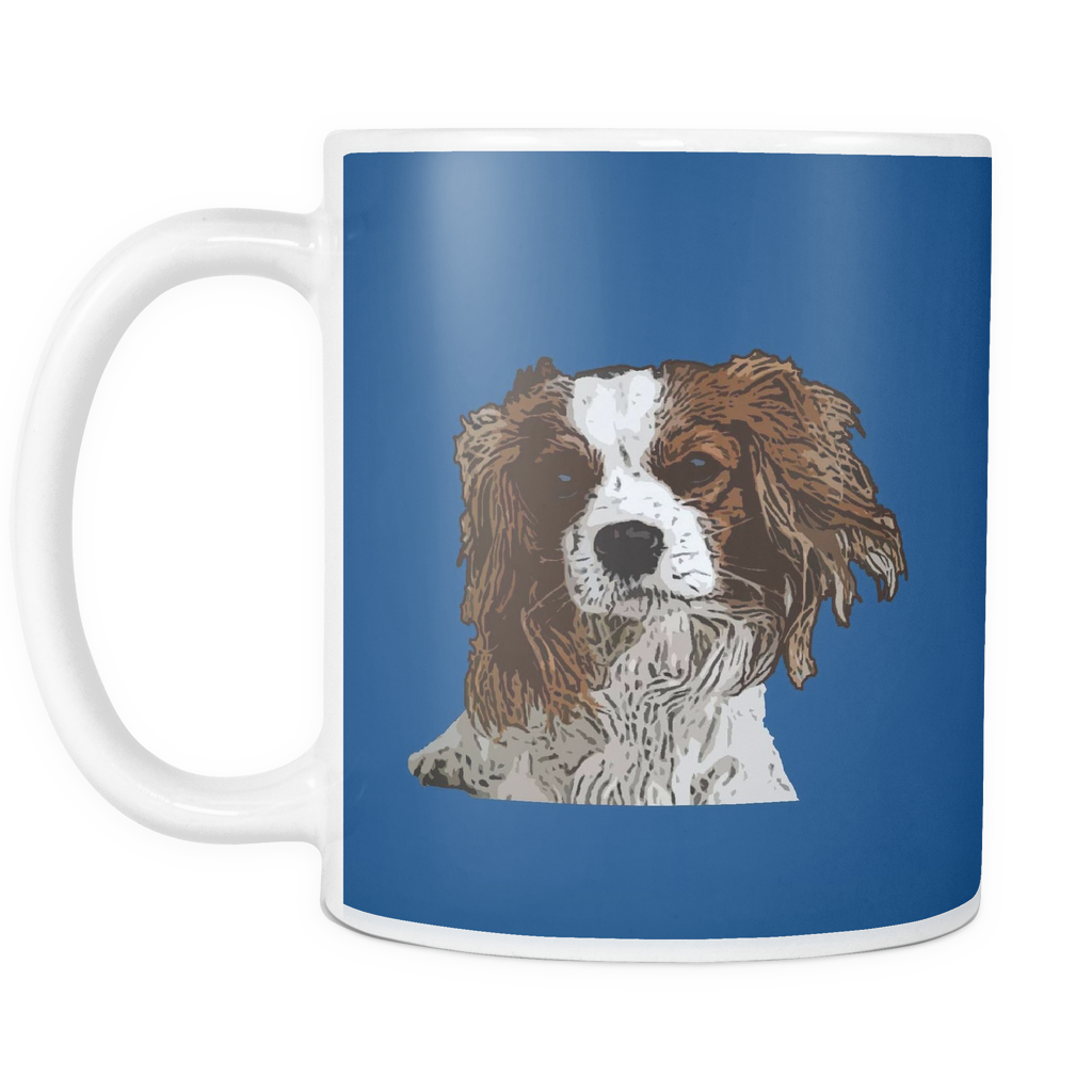 Cavalier King Charles Spaniel Dog Mugs & Coffee Cups - Cavalier King Charles Spaniel Coffee Mugs - TeeAmazing - 4