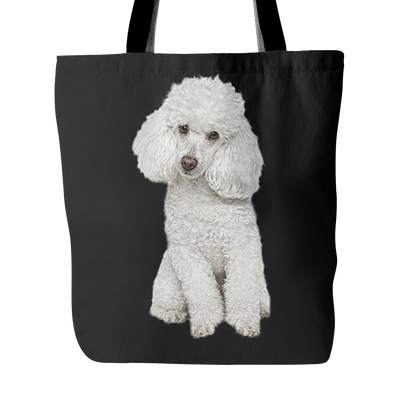Poodle Dog Tote Bags - Poodle Bags - TeeAmazing