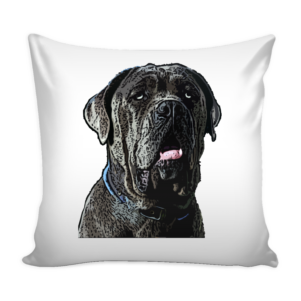 Neapolitan Mastiff Dog Pillow Cover - Neapolitan Mastiff Accessories - TeeAmazing
