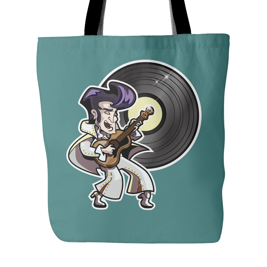 The King of Rock 'n' Roll Tote Bags - TeeAmazing