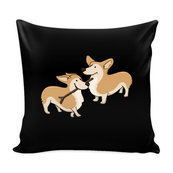 Corgi Dog Pillow Cover - Corgi Accessories - TeeAmazing - 1
