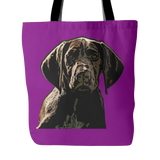 German Shorthaired Pointer Dog Tote Bags - German Shorthaired Pointer Bags - TeeAmazing - 4