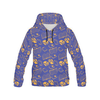 Book Pattern All Over Print Hoodie for Women - TeeAmazing