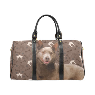 Australian Kelpie Dog New Waterproof Travel Bag/Small - TeeAmazing