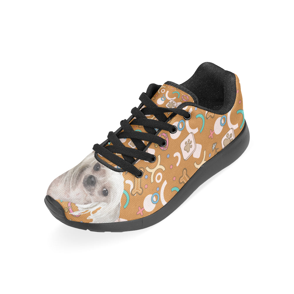 Cute Chinese Crested Black Sneakers for Men - TeeAmazing