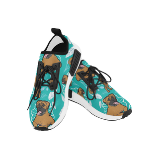 Bullmastiff Flower Women's Draco Running Shoes - TeeAmazing