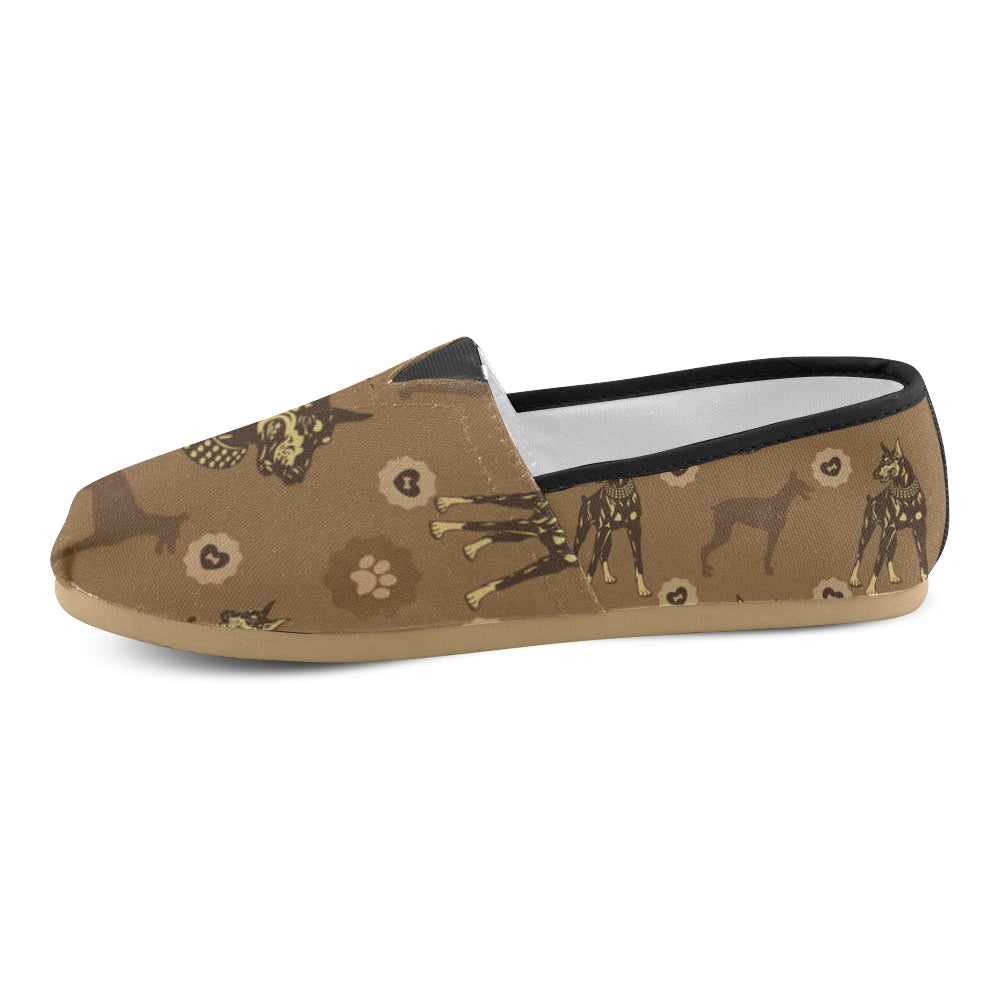 Doberman Women's Casual Shoes - TeeAmazing
