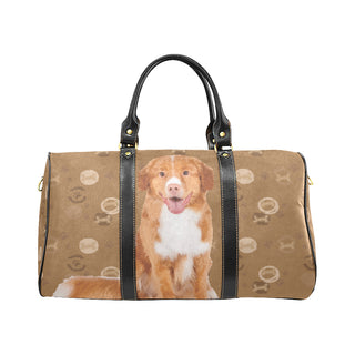 Nova Scotia Duck Tolling Retriever Dog New Waterproof Travel Bag/Small (Model 1639) - TeeAmazing