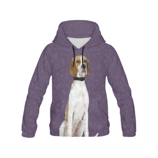 English Pointer Dog All Over Print Hoodie for Women - TeeAmazing