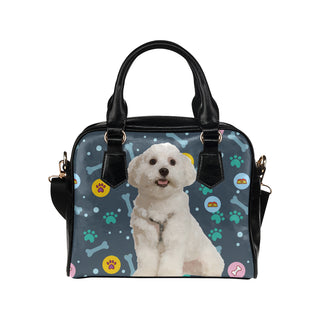 Maltese Shoulder Handbag - TeeAmazing