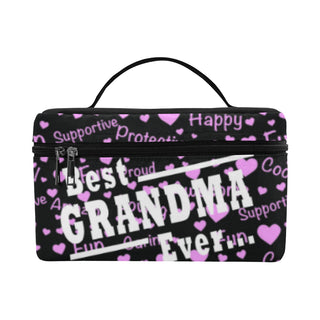 Best Grandma Ever Cosmetic Bag/Large (Model 1658) - TeeAmazing