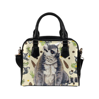 Lemur Shoulder Handbag - TeeAmazing
