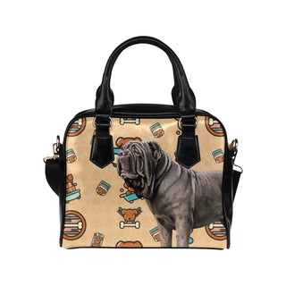 Neapolitan Mastiff Dog Shoulder Handbag - TeeAmazing